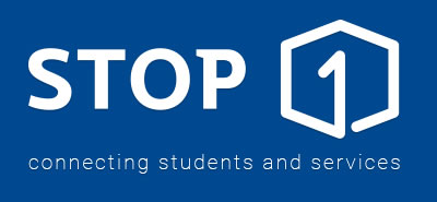 Stop 1 logo - connecting students and services
