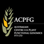 The logo of the Australian Centre for Plant Functional Genomics