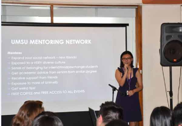 Bachelor of Science student, Beiwei Lin, discusses the importance of mentoring through her undergraduate studies.