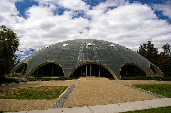 The Australian Academy of Science building known as the Shine Dome